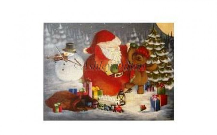 click here to view larger image of Christmas Dance - 18ct (hand painted canvases)
