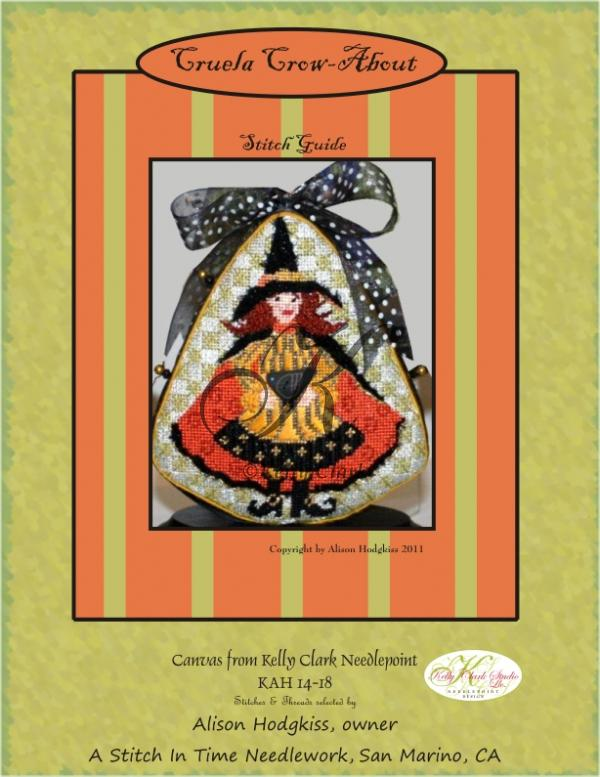 click here to view larger image of Cruela Crow-About Stitch Guide (books)