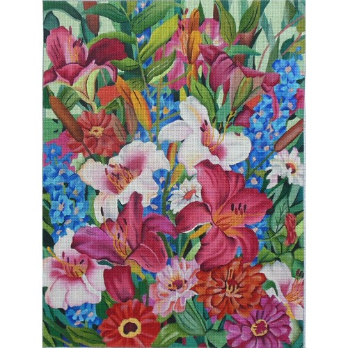 click here to view larger image of Summer Symphony (hand painted canvases)