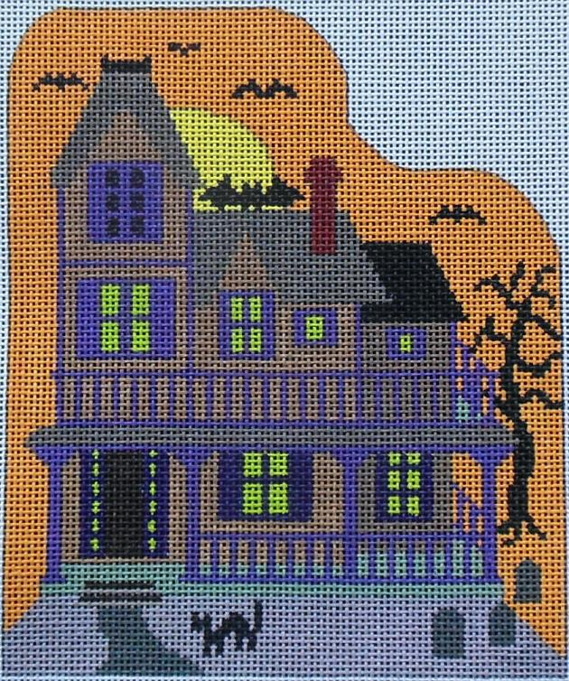 click here to view larger image of Halloween House (hand painted canvases)