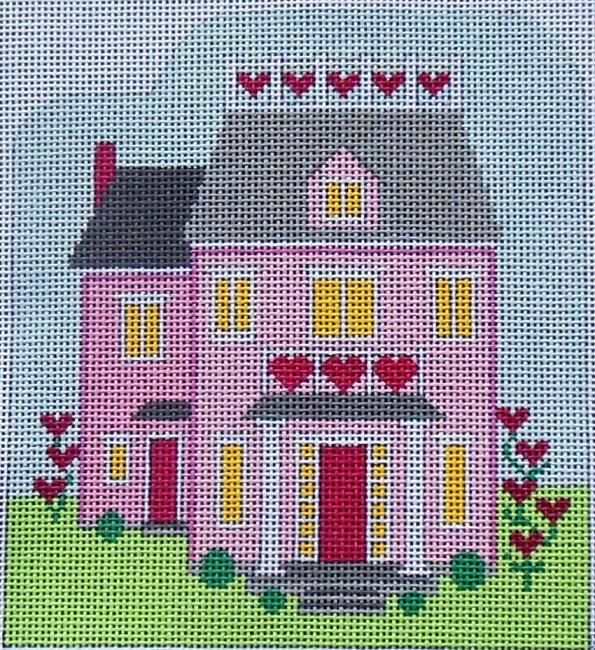 click here to view larger image of Valentine House (hand painted canvases)