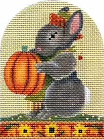 click here to view larger image of Autumn Bunny (hand painted canvases)