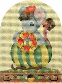 click here to view larger image of Autumn Mouse (hand painted canvases)