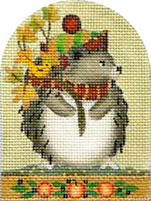 click here to view larger image of Autumn Hedgehog (hand painted canvases)