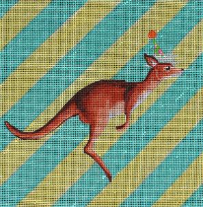 click here to view larger image of Kangaroo (hand painted canvases)