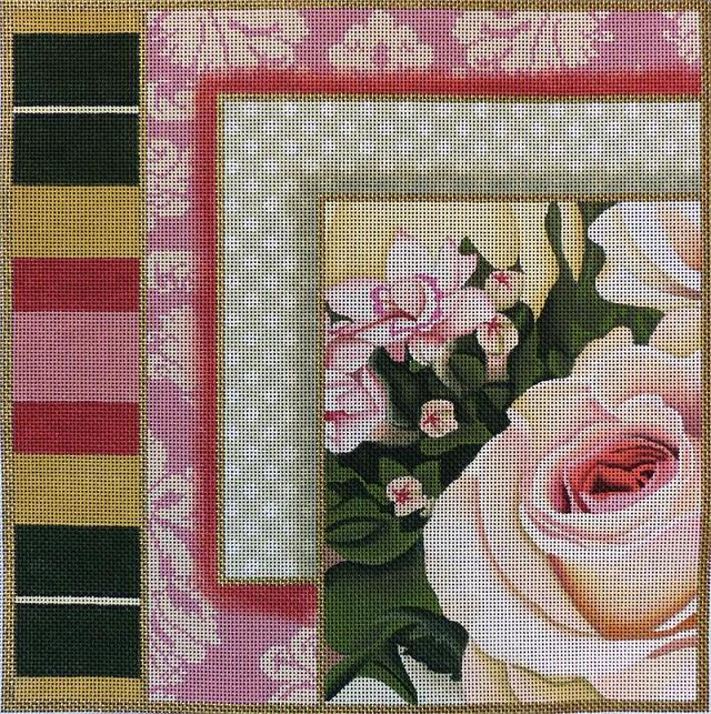 click here to view larger image of Rose Collage #4 (hand painted canvases)
