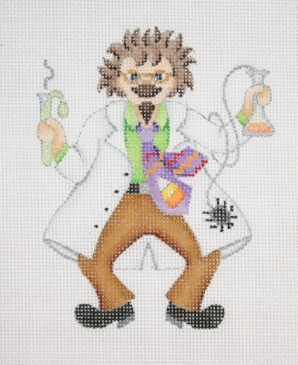 click here to view larger image of Mad Scientist (hand painted canvases)