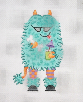 click here to view larger image of Harry the Happy Monster (hand painted canvases)