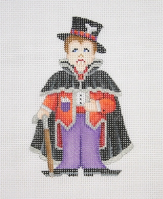 click here to view larger image of Dapper Dracula (hand painted canvases)