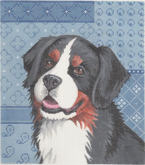 click here to view larger image of Bernese Moutain Dog (hand painted canvases)