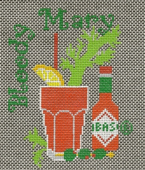 click here to view larger image of Bloody Mary (tabasco) (hand painted canvases)