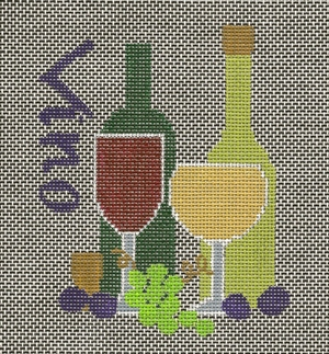 click here to view larger image of Vino (hand painted canvases)
