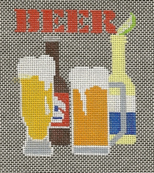 click here to view larger image of Beer (hand painted canvases)