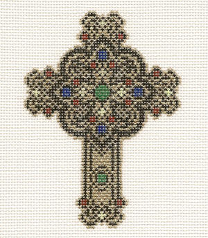click here to view larger image of August Cross - 18ct (hand painted canvases)
