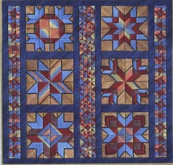 click here to view larger image of Star Sampler (counted canvas work)
