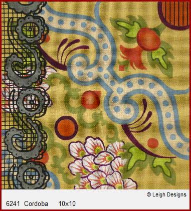 click here to view larger image of Cordoba (hand painted canvases)