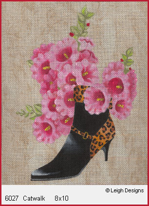 click here to view larger image of Catwalk (hand painted canvases)
