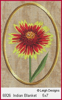click here to view larger image of Indian Blanket (hand painted canvases)