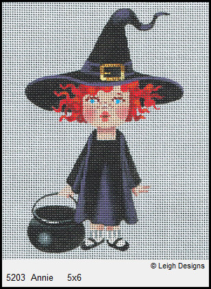click here to view larger image of Annie (hand painted canvases)