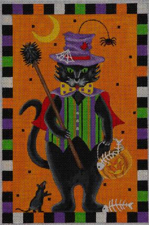 click here to view larger image of Meet Mr Cat (hand painted canvases)