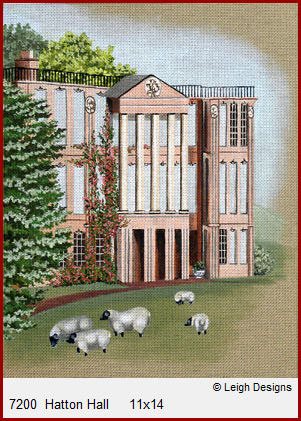 click here to view larger image of Hatton Hall (hand painted canvases)
