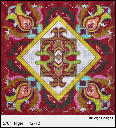 click here to view larger image of Niger (hand painted canvases)
