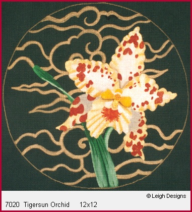 click here to view larger image of Tigersun Orchid (hand painted canvases)