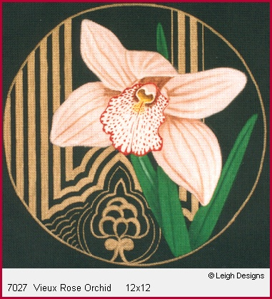 click here to view larger image of Vieux Rose Orchid (hand painted canvases)