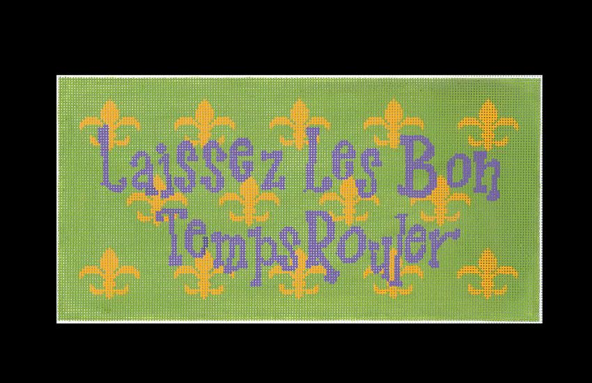 click here to view larger image of Laissez les bon Temps Rouler - 18ct (hand painted canvases)