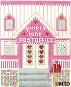 click here to view larger image of Lovers Lane Post Office (hand painted canvases)
