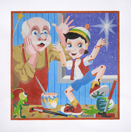 click here to view larger image of Pinocchio (hand painted canvases)