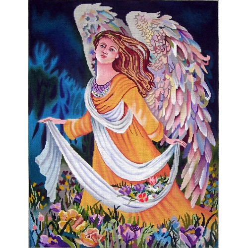 click here to view larger image of Emerald Angel (hand painted canvases)