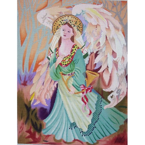 click here to view larger image of Angel of December (hand painted canvases)