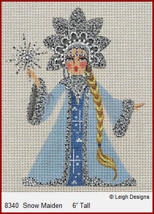 click here to view larger image of Snow Maiden (hand painted canvases)
