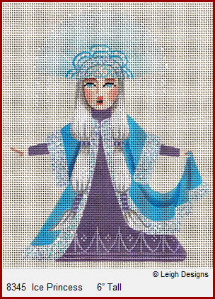 click here to view larger image of Ice Princess (hand painted canvases)