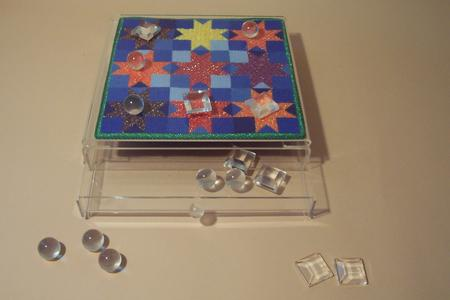 click here to view larger image of Lucite Tic Tac Toe Box (accessories)