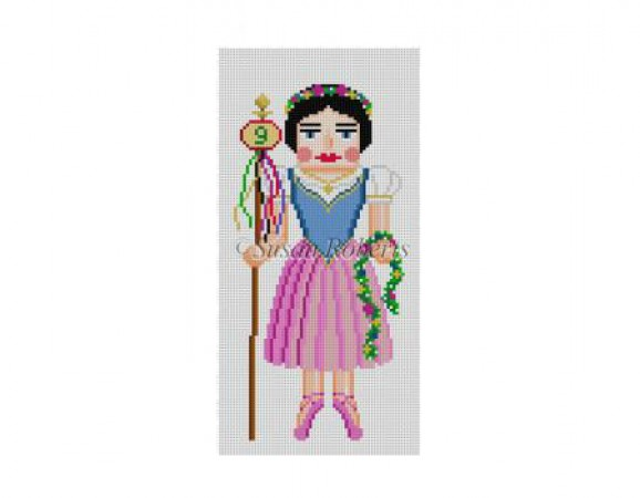 click here to view larger image of Nine Ladies Dancing Nutcracker (hand painted canvases)