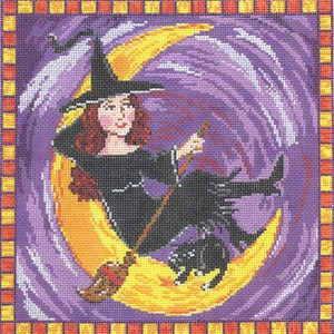 click here to view larger image of Wynona the Witch (hand painted canvases)