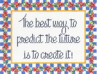click here to view larger image of Predict the Future (hand painted canvases)