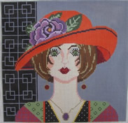 click here to view larger image of Hillary (18ct) (hand painted canvases)
