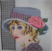 click here to view larger image of Veronica - 13ct (hand painted canvases)