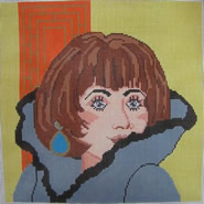 click here to view larger image of Annabel - 13ct (hand painted canvases)