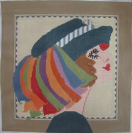 click here to view larger image of Lilliann - 13ct (hand painted canvases)