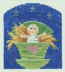 click here to view larger image of Baby Doll Jesus - Kindergarten Nativity (hand painted canvases)
