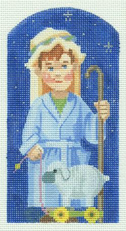 Shepherd - Kindergarten Nativity hand painted canvases