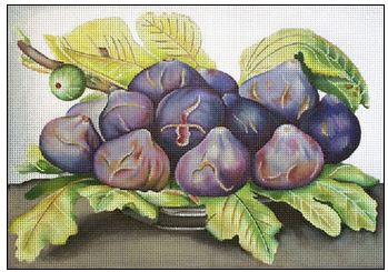 click here to view larger image of Figs (hand painted canvases)