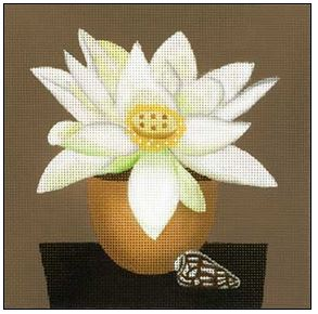 click here to view larger image of Shell Blossom 1 (hand painted canvases)
