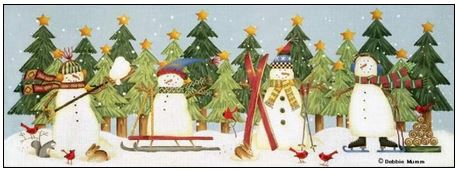 Snowman Work and Play - click here for more details