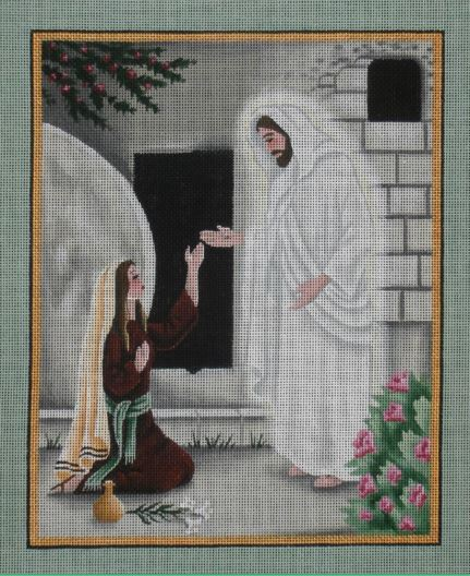 He Is Risen hand painted canvases