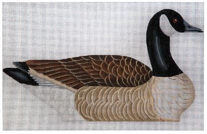 click here to view larger image of Canada Standup Goose (facing left) (hand painted canvases)